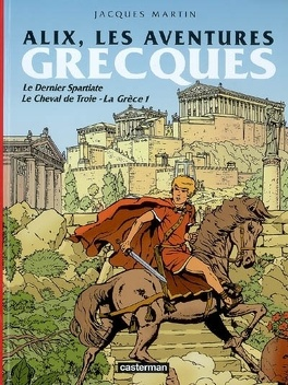Couverture du livre : Alix, aventures grecques