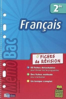 Francais Seconde Livre De Fabienne Pegoraro