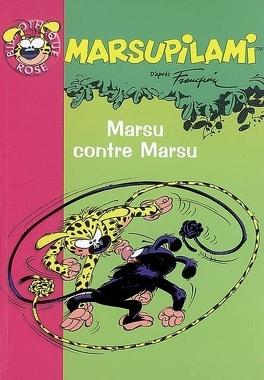 Couverture du livre : Marsupilami, tome 6 : Marsu contre Marsu (Roman)