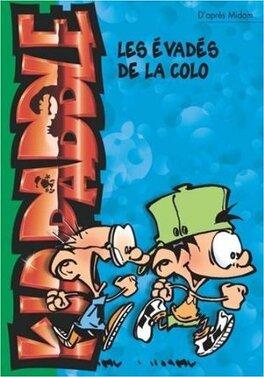 Couverture du livre : Kid Paddle, tome 3 : Les évadés de la colo (Roman)