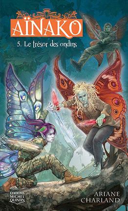 Couverture du livre : Aïnako, tome 5: Le Trésor Des Ondins