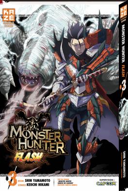 Couverture du livre : Monster Hunter Flash, Tome 3