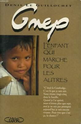 Couverture du livre : Gnep, l'enfant qui marche pour les autres