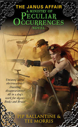 Couverture du livre : Ministry of Peculiar Occurrences, Tome 2 : The Janus Affair