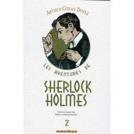 Couverture du livre : Les Aventures de Sherlock Holmes, Tome 2