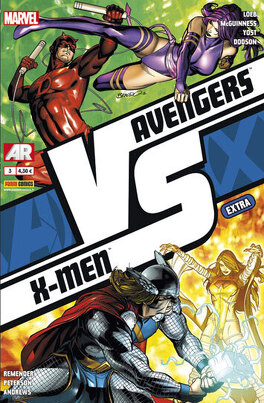 Couverture du livre : Avengers VS X-Men Extra, tome 3 - VS (2/3)