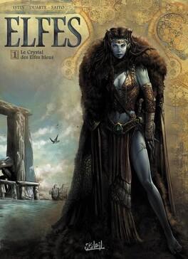 Couverture du livre : Elfes, tome 1 : Le Crystal des Elfes Bleus