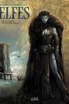 couverture Elfes, tome 1 : Le Crystal des Elfes Bleus