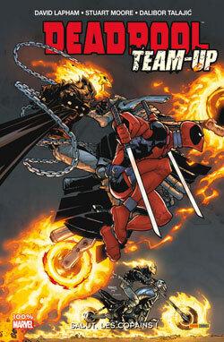 Couverture du livre : Deadpool Team-up, tome 1: Salut les copains