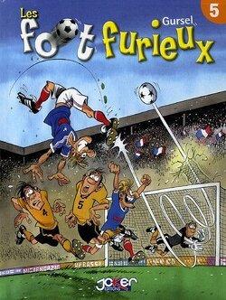 Couverture de Les foot furieux, tome 5
