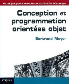 Couverture du livre : Conception et programmation orientées objet