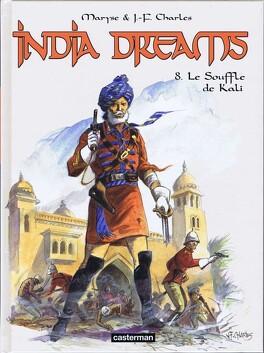 Couverture du livre : India Dreams, tome 8 : Le Souffle de Kali