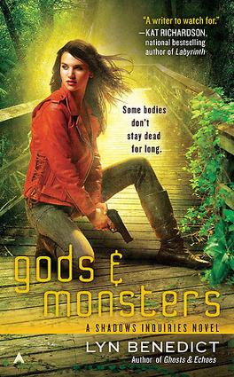 Couverture du livre : Shadows Inquiries, Tome 3 : Gods & Monsters