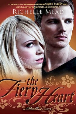Couverture de Bloodlines, Tome 4 : The Fiery Heart