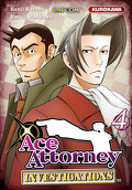 Ace Attorney : Investigations, Tome 4