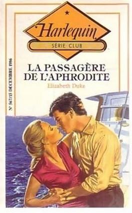 Couverture du livre : La Passagère de l'Aphrodite
