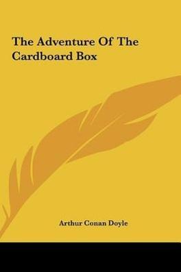 Couverture du livre : The Adventure of the Cardboard Box