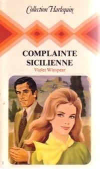 Couverture du livre : Complainte sicilienne
