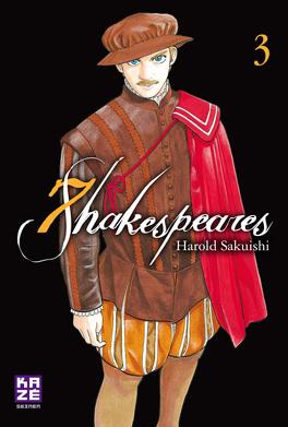 Couverture du livre : Seven Shakespeares, Tome 3