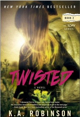 Couverture du livre : Torn, Tome 2 : Twisted