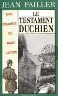 Le testament Duchien/ enquête de mary lester 18