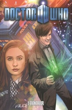 Couverture de Doctor Who (Comics), tome 7 : L'éventreur