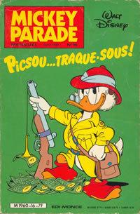 Couverture du livre : Mickey Parade, N° 16 : Picsou... traque-sous !