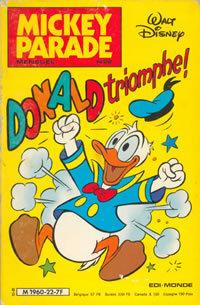 Couverture du livre : Mickey Parade, N° 22 : Donald Triomphe !