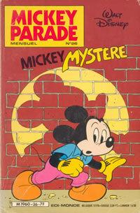 Couverture du livre : Mickey Parade, N° 26 : Mickey mystère