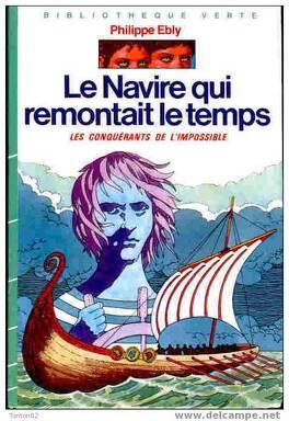 Couverture du livre : Le navire qui remontait le temps