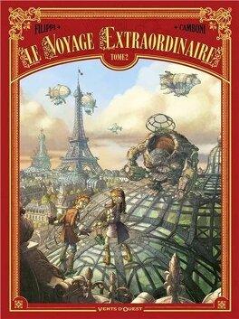 Couverture du livre : Le voyage extraordinaire, tome 2