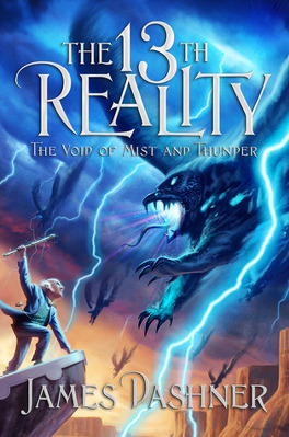 Couverture du livre : The 13th Reality, Tome 4 : The Void of Mist and Thunder