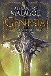 couverture Genesia - Les Chroniques Pourpres, Tome 3 : L'Heure du dragon