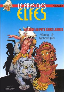 Couverture du livre : Elfquest, tome 2 : Attaque au pays sans larmes