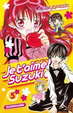 Couverture de Je t'aime Suzuki, tome 5