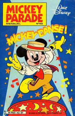 Mickey Parade N 40 Mickey Danse Livre De Collectif