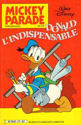 Couverture du livre : Mickey Parade, N° 37 : Donald l'indispensable