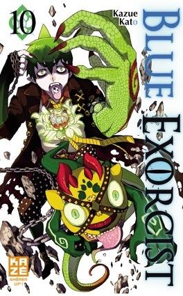 Couverture du livre : Blue Exorcist, Tome 10