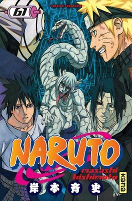 Couverture du livre : Naruto, Tome 61 : Frères, une lutte commune !!