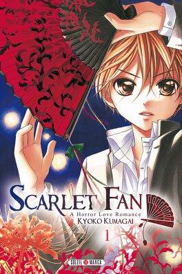 Couverture du livre : Scarlet Fan : A Horror Love Romance, Tome 1