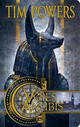 Couverture du livre : Les voies d'Anubis