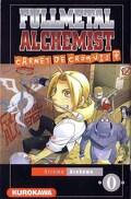 Fullmetal Alchemist, tome 0 : Carnet de croquis