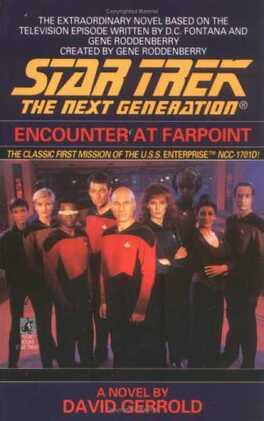 Couverture du livre : Star Trek: The Next Generation - Encounter at Farpoint