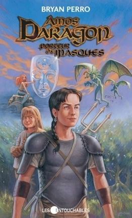 Couverture du livre : Amos Daragon, tome 1 : Porteur de masques