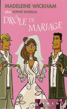 Couverture du livre : Drôle de mariage