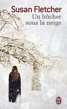 Un bûcher sous la neige