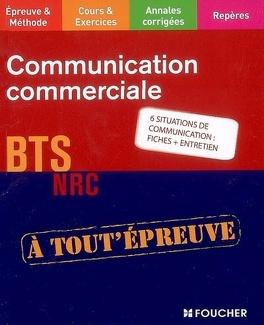 Couverture du livre : Communication commerciale : BTS NRC