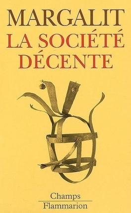 Couverture du livre : La société décente