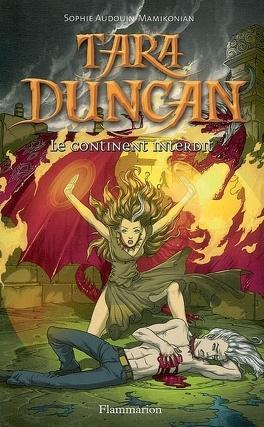 Couverture du livre : Tara Duncan, Tome 5 : Le Continent interdit