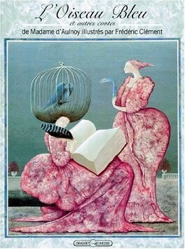 Couverture du livre : L'oiseau bleu